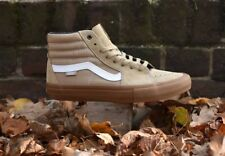 Vans Sk8 Hi Pro Khaki Brown Gum Men's Size 6.5 New In Box Skate Shoe