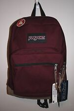 JANSPORT RIGHT PACK RUSSET RED BACKPACK 100% AUTHENTIC MSRP $60-  NEW w/TAG!!