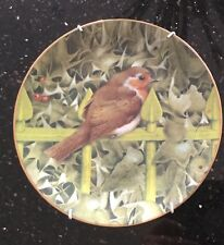 Limited edition Christmas Plate by Ken Lilly, produced for The Royal Mail in1995