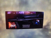 007 James Bond, Tomorrow Never Dies, Real Prop Rubber Stunt Prop Rifle