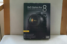 DxO OPTICS Pro 8 ELITE NEUF POUR WINDOWS ET MAC