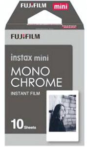 *NEW* Fuji INSTAX mini Monochrome Instant Film - Dated 12/2021