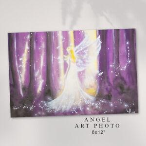 "Spirtual Art Photo ""Secret Light"" Angel Energy, Altar, Bedroom Meditation Decor"