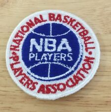 Nba Players Association Patch Badge Vintage