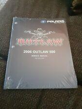 Polaris 2006 Outlaw 500 Service Manual P/N 9920566
