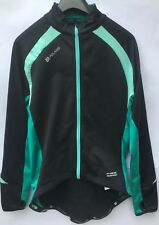 Polaris Mica Windproof long sleeve  Jersey (Black/Green/ SIZE 14 NEW