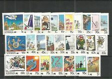 AUSTRALIA 1988 LIVING TOGETHER ISSUE SG,1111-1136 U/MM NH LOT 93A