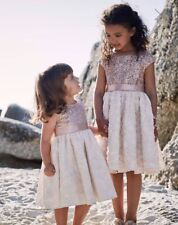Monsoon Rose Gold Sequins Dress Age 12-13 BNWT