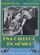 DVD - Una Gallega En Mexico NEW Joaquin Pardave Jorge Negrete FAST SHIPPING !