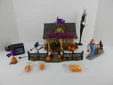 Lemax VILLAGE mini Halloween Trick or treat CAT in GHOST Costume for Dept 56