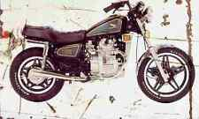 Honda CX500C 1981 Aged Vintage Photo Print A4 Retro poster