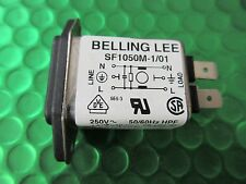 Mains Filter Compact IEC Inlet 1a Sf1050m-1/01 250v