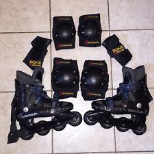 Rollerblade Cool Blade Inline Skates - Size 26 & Bonz Shields Pads Men / Women