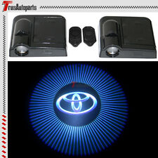 Pair For Toyota Wireless Car Courtesy Door Welcome Laser Projector LED Lights