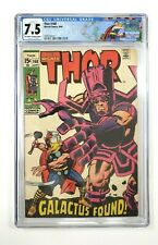 THOR #168 CGC Grade 7.5 Off-White to White Pages Marvel Comics 1969 Custom label