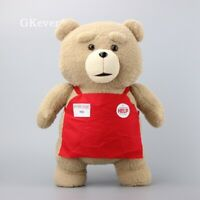 Ted Teddy Bear Plush Toy Stuffed Animal Figure Doll Plushie Kids Xmas Gift 45cm