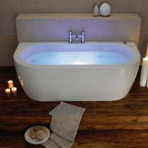 Moods Bathrooms to Love Decadence Supercast 1700 x 800mm Luxury Back to Wall ...