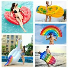 Inflatable Swimming Mattress Pool Float Giant Summer Beach Lounge Party Toys