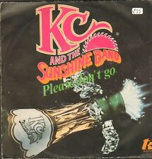 KC & The Sunshine Band ‎– Please Don'T Go - T.K. Records ‎– TKR 7558 - Ita 1979