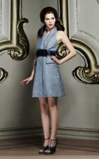 Viktor & Rolf Blue Belted Dress