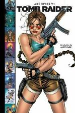 TOMB RAIDER ARCHIVES 1 NEW HARDCOVER BOOK