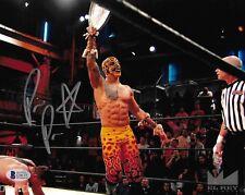 Prince Puma Signed 8x10 Photo BAS COA Ricochet Pro Wrestling Lucha Underground 1
