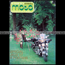 LE MONDE DE LA MOTO N°116 GUZZI V65 CALIFORNIA MZ 250 PATRICK BOURNY CAP NORD 84