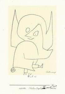 Postkarte: Paul Klee - Schellen-Engel