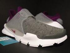 fac8b2a55a13 Nike Sock Dart Tech Fleece NikeLab Grey Heather Mulberry 834669-006 Sz 9