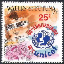 Wallis & Futuna 1996 Children/Health/UNICEF/Welfare/Education 1v (n24763)
