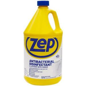 Zep Antibacterial Disinfectant & Cleaner with Lemon Gallon