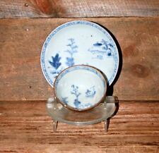 Blue White Nanking Cargo Batavian Porcelain Cup Saucer Shipwreck Christies China