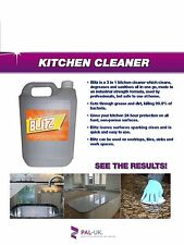 3 IN 1 PROFESSIONAL STRENGTH KITCHEN CLEANER KILLS 99.9% OF BACTERIA