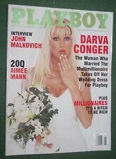 Playboy Aug 2000 POM Summer Altice Darva Conger Dorothy Stratton John Malkovich