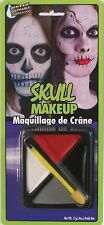 Skull Dia de los Muertos Day of the Dead Face Paint Vampire White Makeup Kit