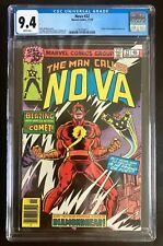 Nova #22 CGC 9.4 White Pages New Case Marvel 11/1978