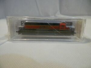 New! Micro-Trains Line Z Scale Locomotive Engine BNSF 6821 Burlington Northern