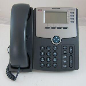 Cisco SPA504G VoIP Phone - 4 Lines - POE - 12 Months Warranty - Unlocked