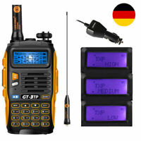 Baofeng GT-3 TP Mark III ★8W★ 136-174/400-520Mhz Radio Amateur Hand-Funkgerät