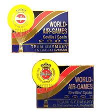 WARSTEINER BALLON Pin / Pins - GORDON BENNETT WORLD AIR 2001 / 2 PINS!!!! [3174]