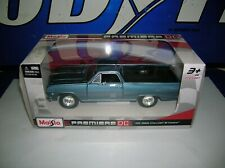 1965 65 CHEVY EL CAMINO 327 BLUE MIST POLY 1/25th SCALE NEW