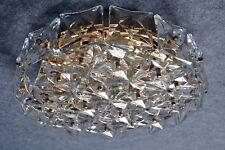 Talla RARO kinkeldey Cristal latón lámpara de techo Araña Kalmar Era