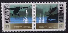 CANADA 1988 Wildlife & Habitat Conservation. Set of 2. Fine USED. SG1290/1291.