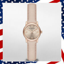 *USA SELLER* Swiss Made New Authentic Burberry Women's Rose Gold Watch BU9210