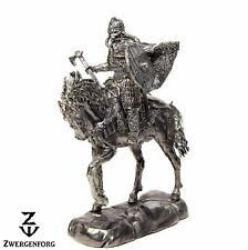 Tin Toy SOLDIER Viking CAVALRY Jarl WARLORD Chief WARRIOR 1/32 Metal Tin Figure