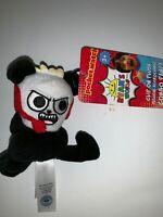"Ryan's World 4"" Clip On Plush Combo Panda"