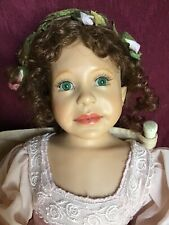 16� Resin Doll By Diane Keeler. Angel But No Wings. Really Pretty