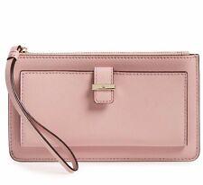 NWT Kate Spade Cedar Street Karolina Leather Wallet Clutch Pink Bonnet New $100