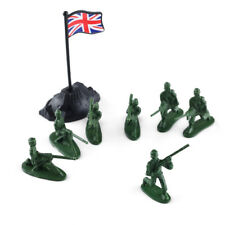 100pcs Military Plastic Toy 1:72 Soldiers Army Men Green Figures Poses Different