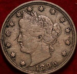 1896 Philadelphia Mint Liberty Nickel